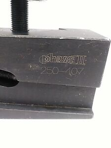 New Universal Parting Blade Holder Phase Ii 250 407 14 20 Lathe Swing