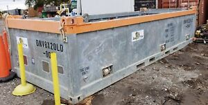 Offshore Basket Container 8 x20 Dnv 2 7 1 Half height With Removable Door
