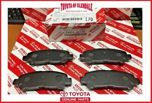 2008 2013 Toyota Highlander Hv Rear Ceramic Brake Pads Genuine Oem 04466 Az105