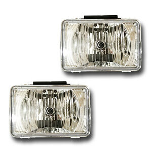 Fits Chevrolet Colorado Gmc Canyon Driver Passenger Fog Light Assembly 1 Pair