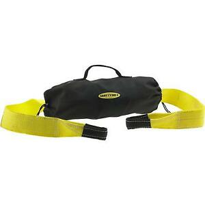 Smittybilt Storage Bag And Tow Strap Combo Kit yellow Bagstrap1