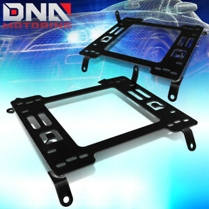 For 2012 2015 Honda Civic Pair Steel Racing Seats Mounting Brackets Rail track