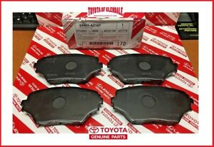 2001 2005 Toyota Rav4 Front Ceramic Brake Pads Genuine Oem New 04465 az107