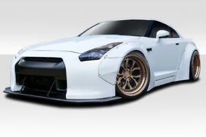 Fit Nissan Gt R R35 09 16 Duraflex Body Kit Lbw Widebody 8 Piece