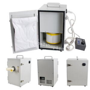 Fda Dental Double Impeller Dust Collector Vacuum Cleaner Automatic Time System
