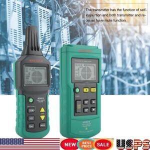12v 400v Ac dc Wire Cable Locator Metal Pipe Detector Tester Line Tracker Usa