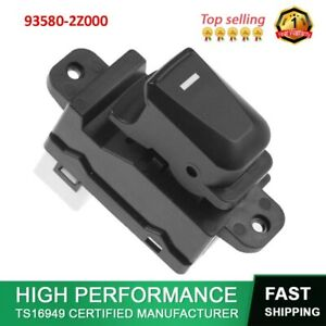 For Hyundai Ix35 Passenger Side Electric Power Window Switch Lifter 93580 2z000