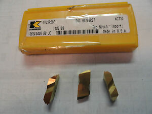 Kennametal Carbide Threading Inserts Ntc3r28e Grade Kc730