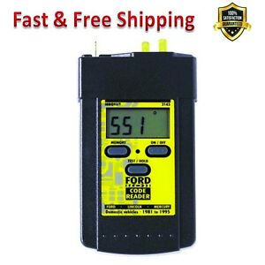 Ford Digital Obd1 Code Reader Digital Display Stores Codes Self Tests Scan Tools