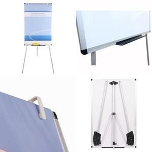Whiteboard Magnetic Dry Erase Board 48 X 24 Light Tripod Easel Portable New