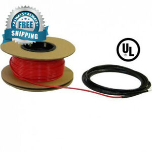 Heattech 10 20 Sqft Electric Radiant In floor Heating Cable System 120v