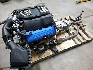 2013 Mustang 5 0 Coyote Boss Engine Drivetrain Manual Transmission Mt 82 24k Mi