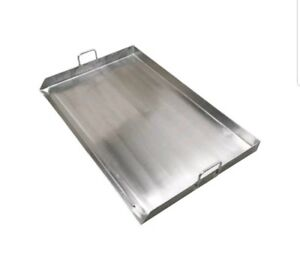 32 X 18 Stainless Steel Griddle Double Flat Top Grill Plancha Heavy Duty