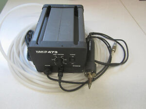 Hakko Corporation 473 Desoldering System Power Supply W 807 Tool Air Assisted