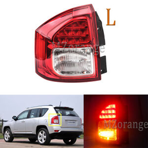Left Side Rear Tail Lamp Assembly Fog Light Fit For Jeep Compass 2011 2014