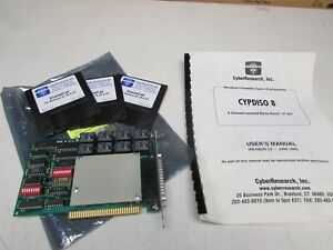 Cyber Research Cypdiso 8 8 channel Isolated Relay Board 37pin New Surplus No Box