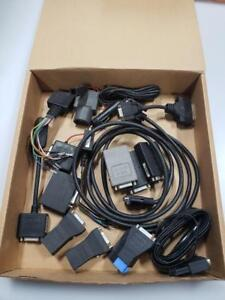 Lot Of Snap On Mt 2500 Diagnostic Scanner Adapters Cables 17pc