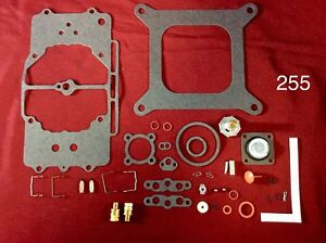 Premium Ford Autolite 4100 4 Barrel 4bbl Carburetor Rebuild Kit Made In Usa