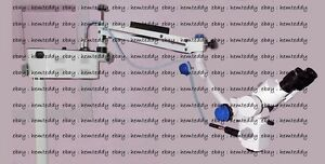 5 Steps Surgical Dental Microscope Inclinable Binoculars Manual floor Stand