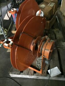 Slightly Used Gleason Retractable Cable Reel Spring Loaded 2 For 500