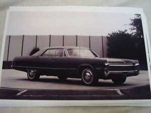 1972 Chrysler Imperial 11 X 17 Photo Picture
