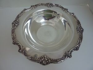 Reed Barton King Francis Silverplate 1671 Medium Round Vegetable Serving Bowl