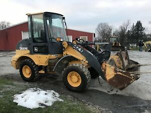 2006 John Deere 244j 4x4 Compact Wheel Loader W Cab Coming Soon
