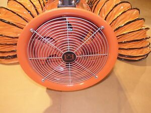 Evacuator 3000 Ventilation Fan Blower Exhaust Evacuation 13 Inch 3000 Cfm