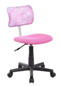 Anji Swivel Mesh Back Kids Desk Chair With Adjustable Seat Office Task Chair Pin