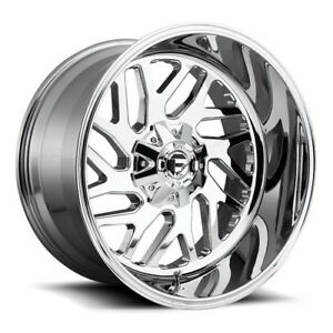 20x9 Fuel D609 Triton Chrome Wheels 6x135 6x5 5 20mm Set Of 4