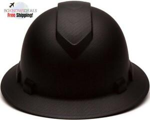 Full Brim Hard Hat Construction Safety Helmet Easy To Adjust Replaceable Pads