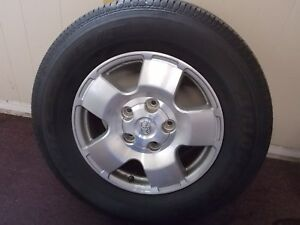 2013 Toyota Tundra Stock Wheels And Tires Used Oem Set Of 4