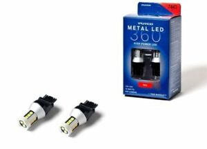 Putco Red Metal Led Bulbs 360 3157 Pair Free Shipping In Stock New 343157r 360