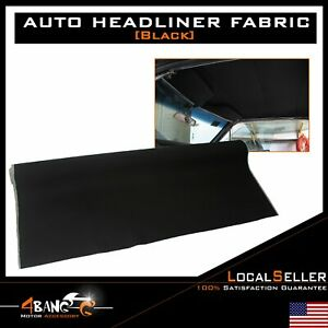 Automotive Headliner Fabric Interior Backed Sunroof Decorative Beige 48 X60
