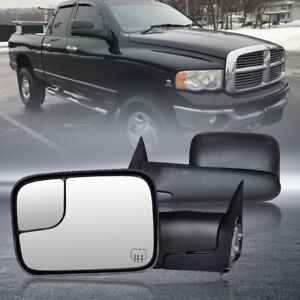 For Dodge Ram 98 01 1500 98 02 2500 3500 Electric Adjust Power Heated Tow Mirror