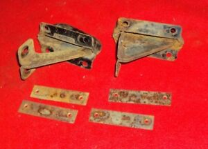 1950 1962 Willys Jeep Truck Wagon Hood Hinges