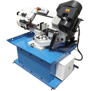 Hydraulic Feed Metal Cutter Cutting Band Saw Vertical Horizontal Swivel Bow 7