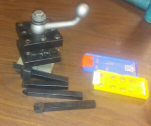 Lathe 4 way Tool Post Holder Fits 8 To 12 South Bend Atlas Clausing