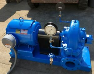 Paco Pacific Pumping Co 40 Horsepower 700 Gpm Centrifugal Industrial Water Pump