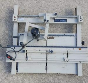 Scott Sm 300 Engraving Machine Pantograph Sign Maker Engraver