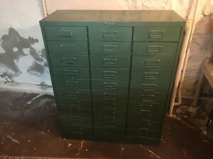 Vintage Steelmaster 30 Drawer Cabinet