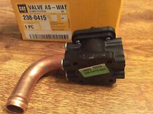 Caterpillar 140h Motor Grader Water Valve Assembly Cat Number 238 0415