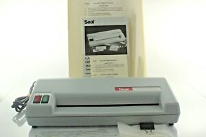 Seal Ct910 Personal Laminator 9 Inch Full Size Paper Capacity Includes Supplies
