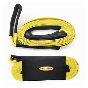 Smittybilt Cc330 Tow Strap 3 X 30 30 000 Lb Rating Universal