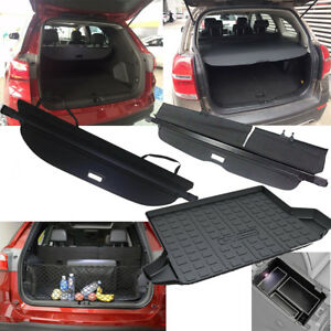 Rear Trunk Shield Cargo Cover Floor Mat Net For2010 2018 2019 Chevrolet Equinox