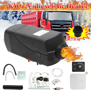 5kw Diesel Air Heater 12v Tank Vent Duct For Motorhome Trailer Trucks Boats Bus