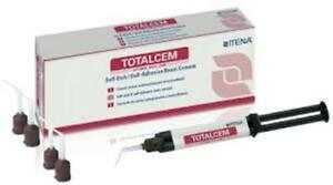 Total Cem 8gm Dual Cure Self Adhesive Permanent Resin Luting Cement Itena Dental