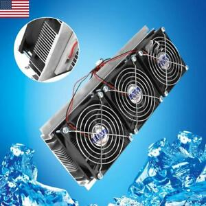 Diy Thermoelectric Peltier Refrigeration Semiconductor Cooling System Cooler Kit