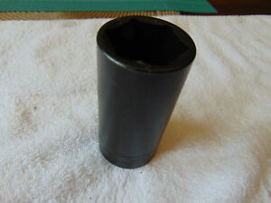 Snap On Usa 1 1 4 Impact Deep Socket Drive 6 Point 1 2 Drive Sim400 Free Ship