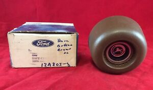 Nos Ford 1971 1976 Pinto Steering Wheel Horn Button 1972 1973 1974 1975 Brown